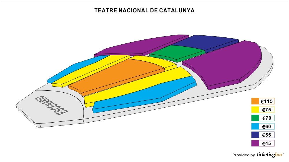 Shen yun in barcelona abril 24 25 2015 at gran for Teatre nacional de catalunya