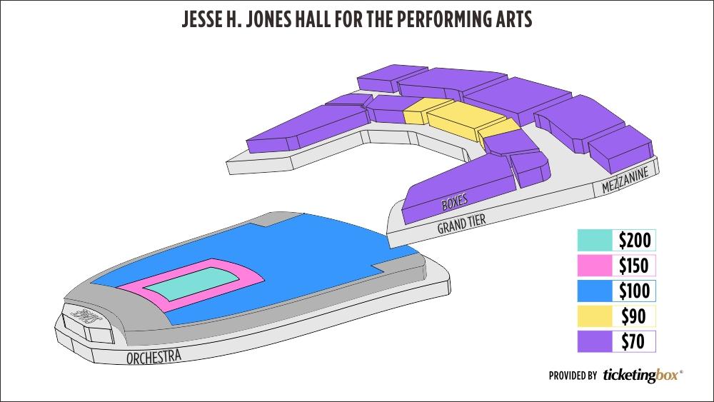 Shen Yun Houston Houston Jones Hall For The Performing Arts Seating Chart