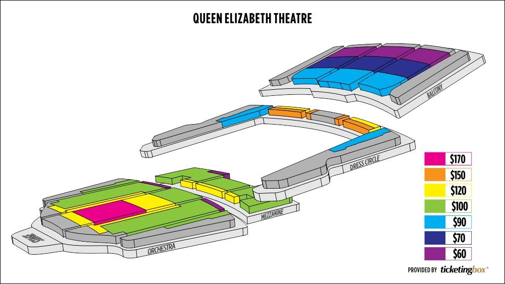 Shen Yun Vancouver Queen Elizabeth Theatre Seating Chart