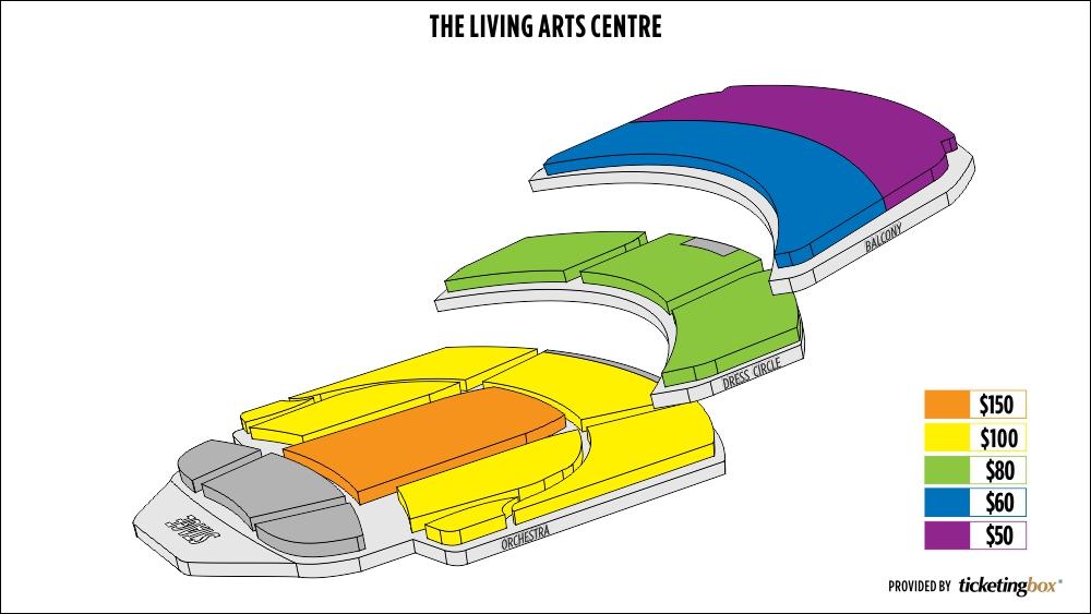 mississauga the living arts centre seating chart. Black Bedroom Furniture Sets. Home Design Ideas