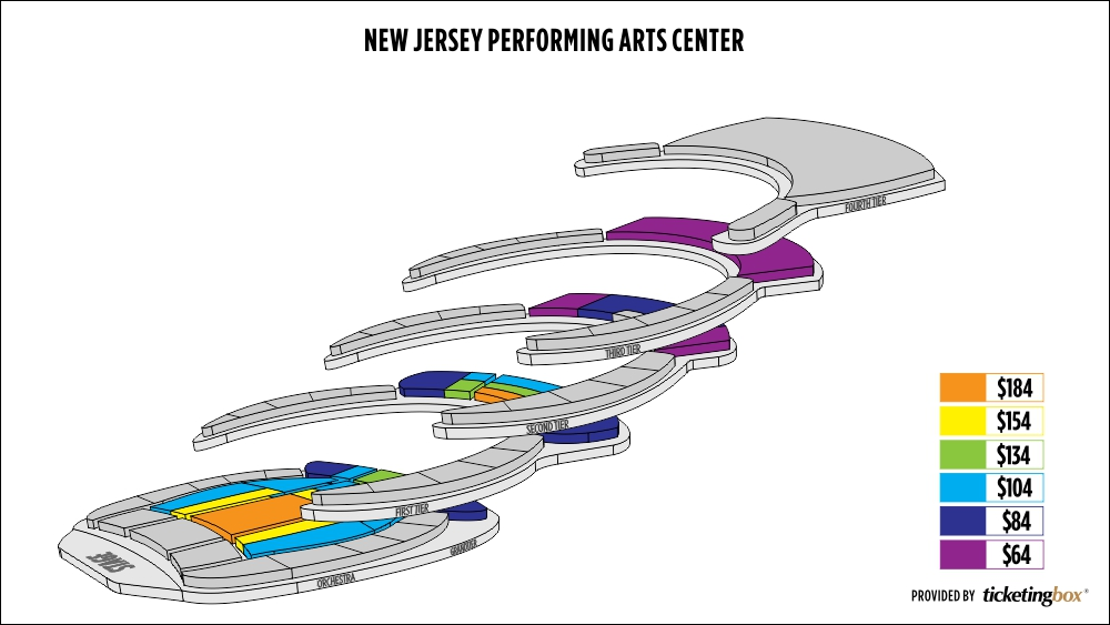 Njpac Seating Chart Chaka Khan Stephanie Mills Tickets