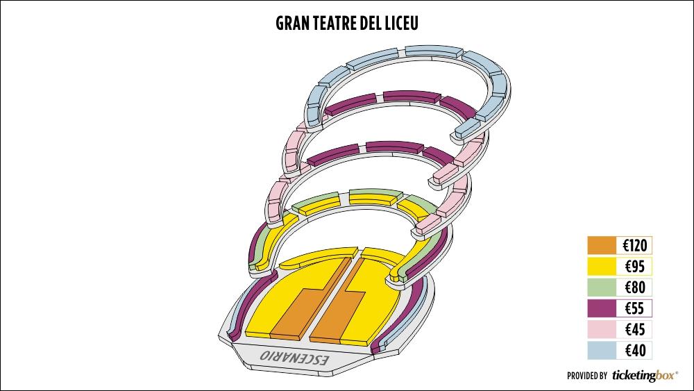 Shen Yun Barcelona Gran Teatre del Liceu Seating Chart