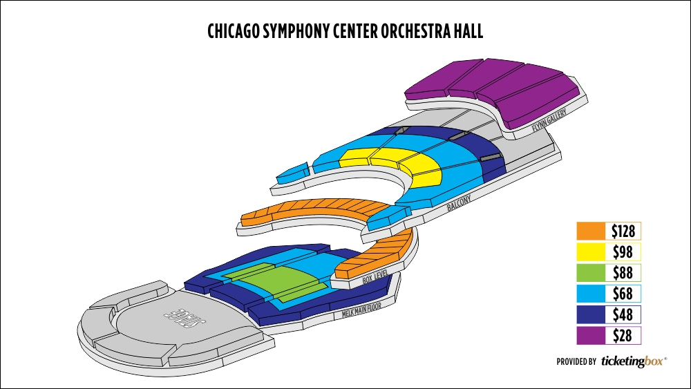 Chicago symphony orchestra seating chart elcho table
