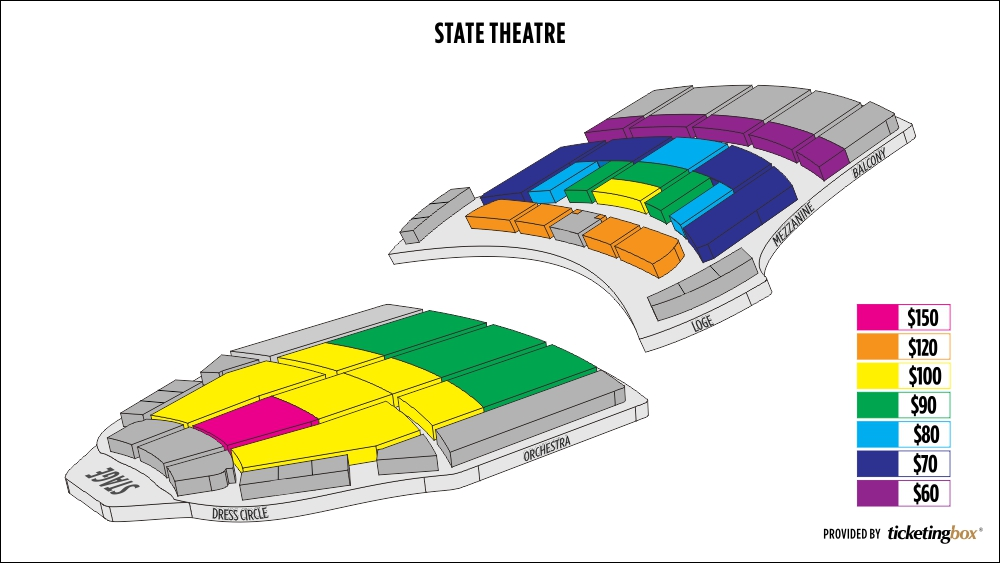 Shen Yun Cleveland State Theatre Seating Chart