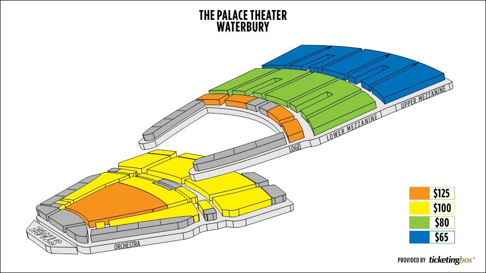 Shen Yun Waterbury Palace Theater Seating Chart