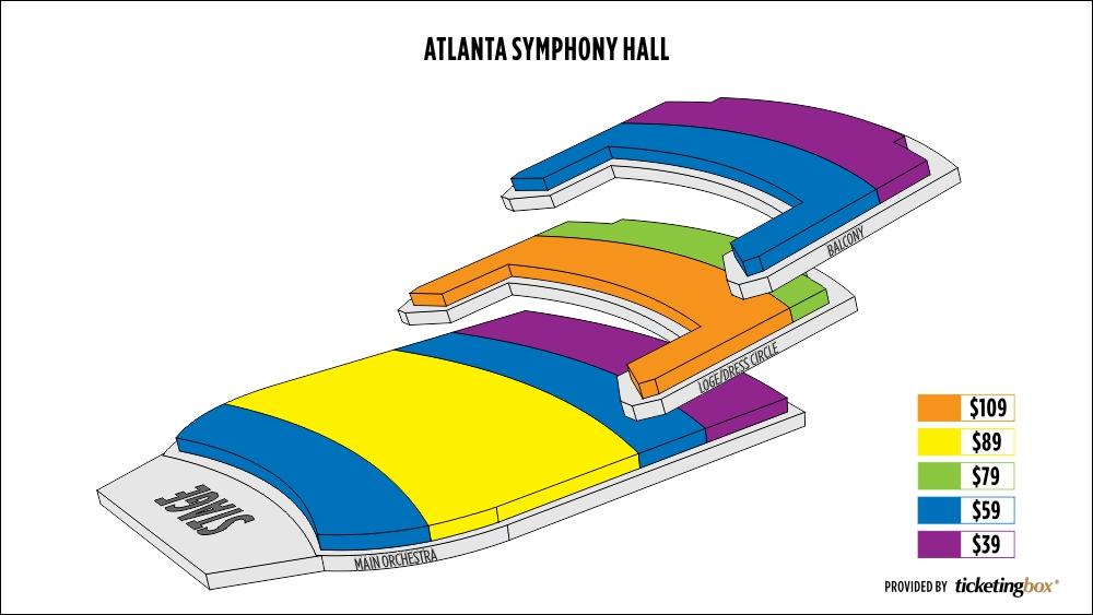 Atlanta Symphony Seating Chart Related Keywords Atlanta