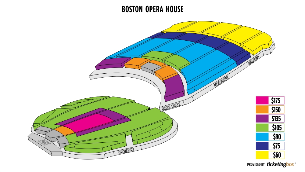 Shen Yun Boston Boston Opera House Seating Chart