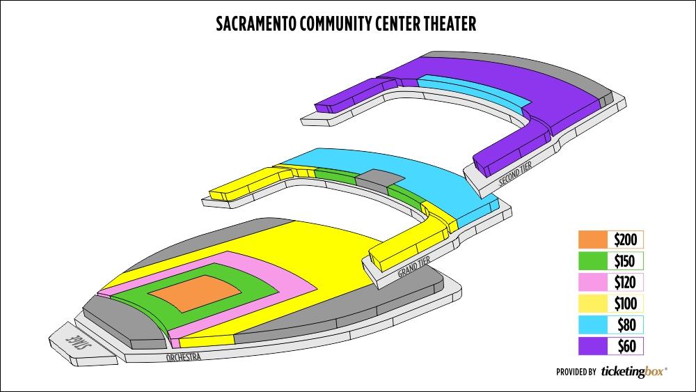 Shen Yun Sacramento Sacramento Community Center Theater Seating Chart