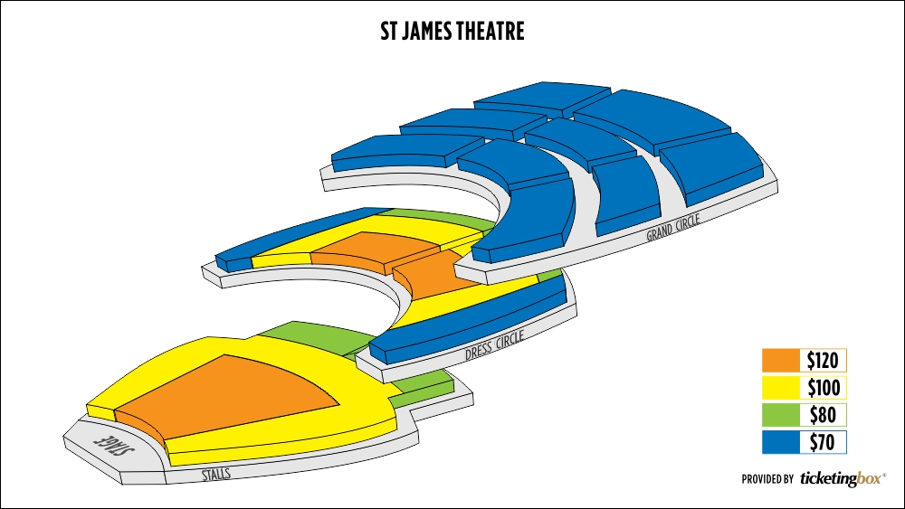 Shen Yun Wellington St James Theatre Seating Chart