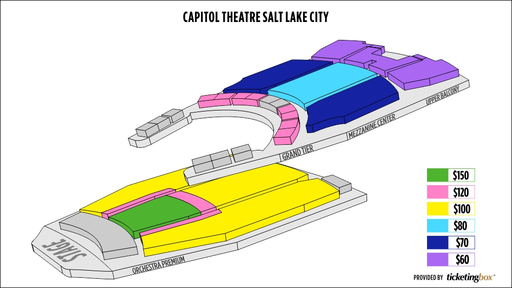 Shen Yun Salt Lake City Janet Quinney Lawson Capitol Theatre Seating Chart