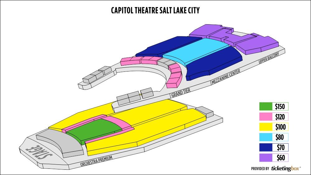 capitol theatre seating diagram  diagram  auto parts