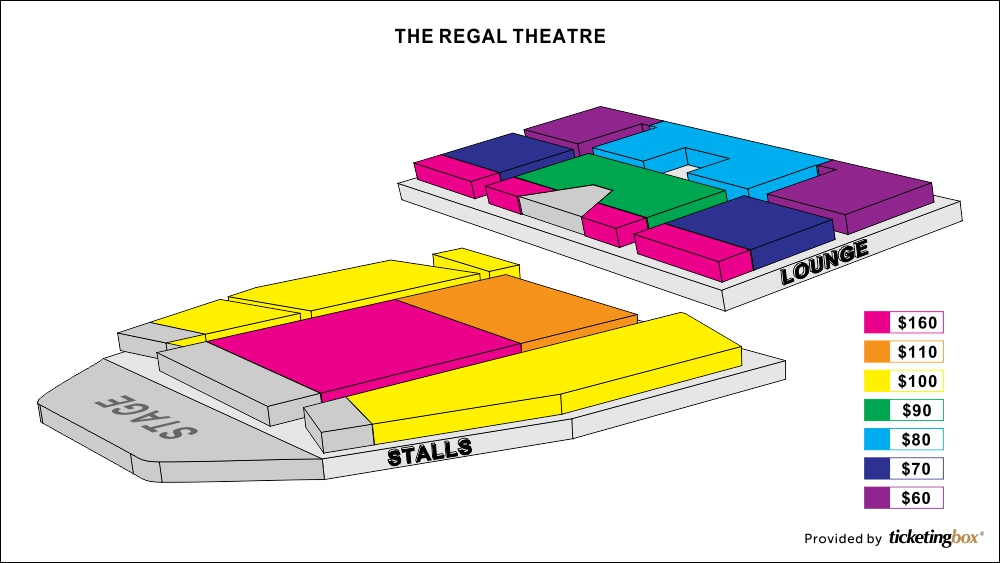 Shen Yun Perth The Regal Theatre Seating Chart