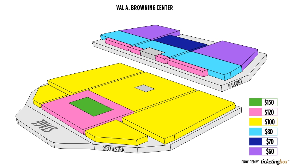 Shen Yun Ogden Val A. Browning Center Seating Chart