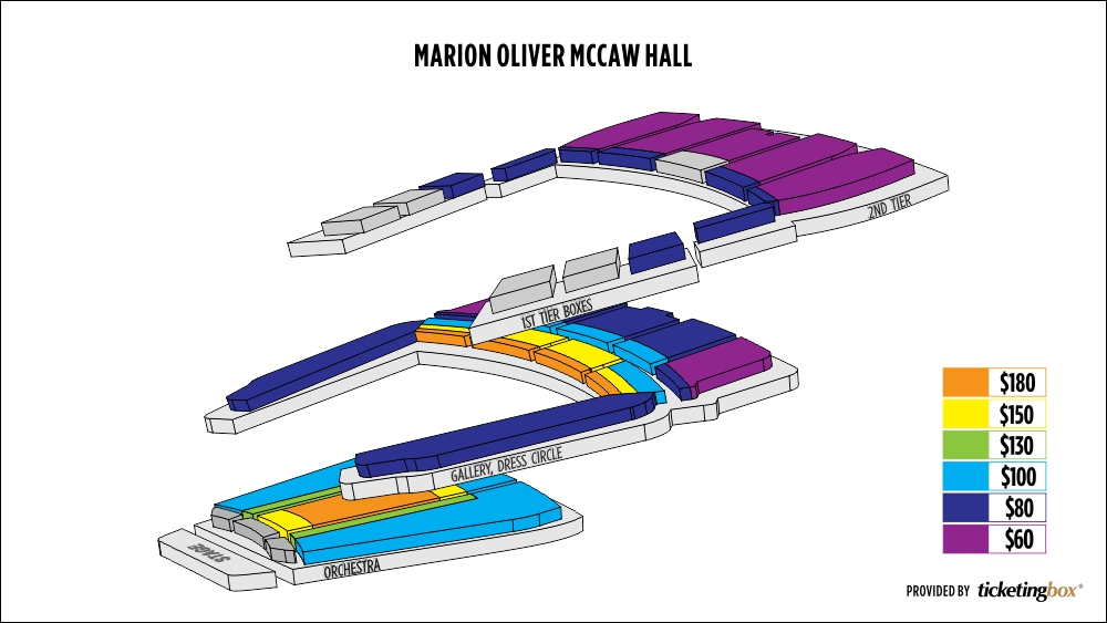 Shen Yun Seattle Marion Oliver McCaw Hall Seating Chart