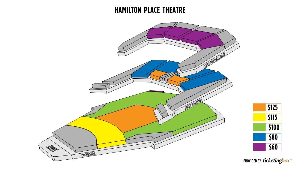 Shen Yun Hamilton Hamilton Place Theatre Seating Chart