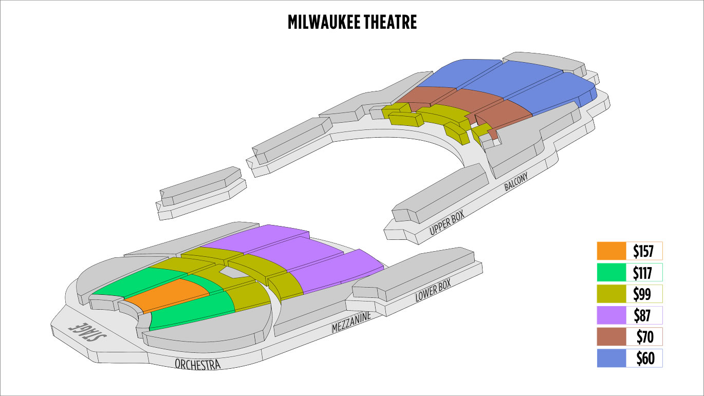 Shen Yun Milwaukee Milwaukee Theatre Seating Chart