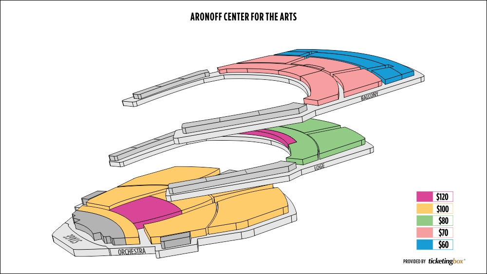 Shen Yun Cincinnati Aronoff Center for the Arts Seating Chart