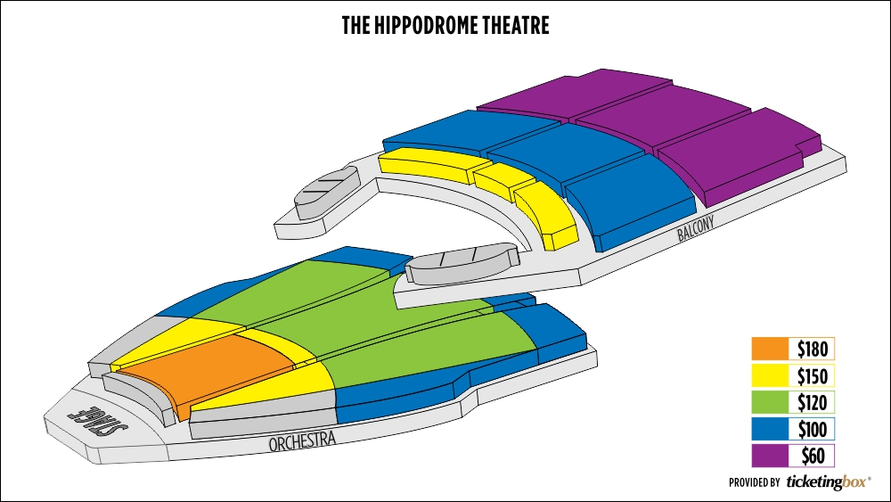 Shen Yun Baltimore The Hippodrome Theatre Seating Chart