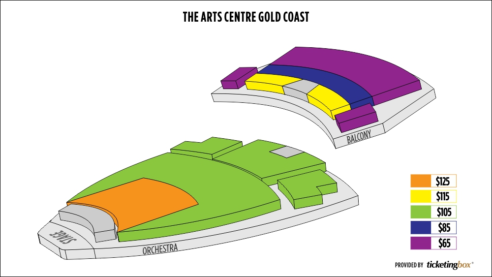 Shen Yun Gold Coast Arts Theatre, The Arts Centre Gold Coast Seating Chart