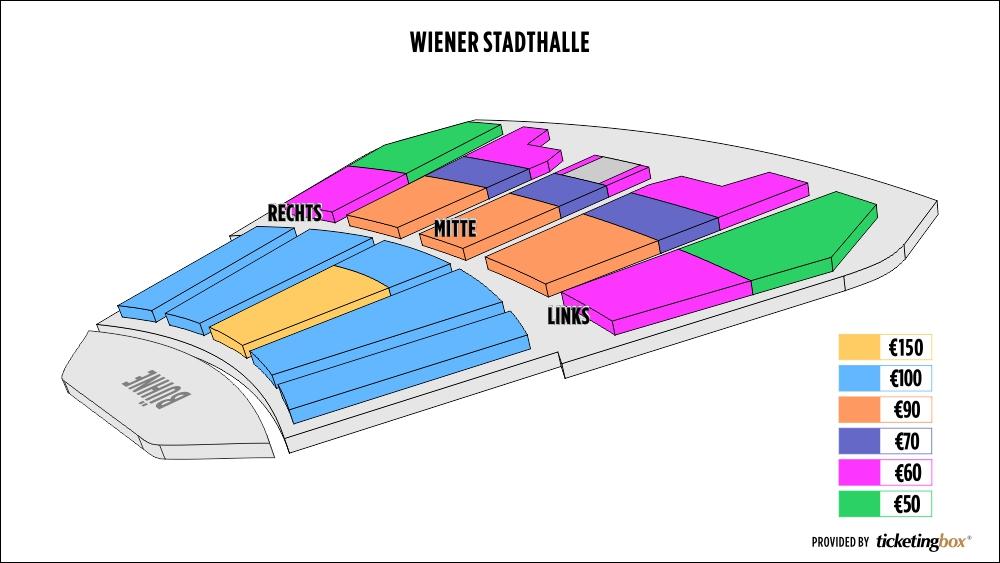 Shen Yun Vienna Wiener Stadthalle Seating Chart