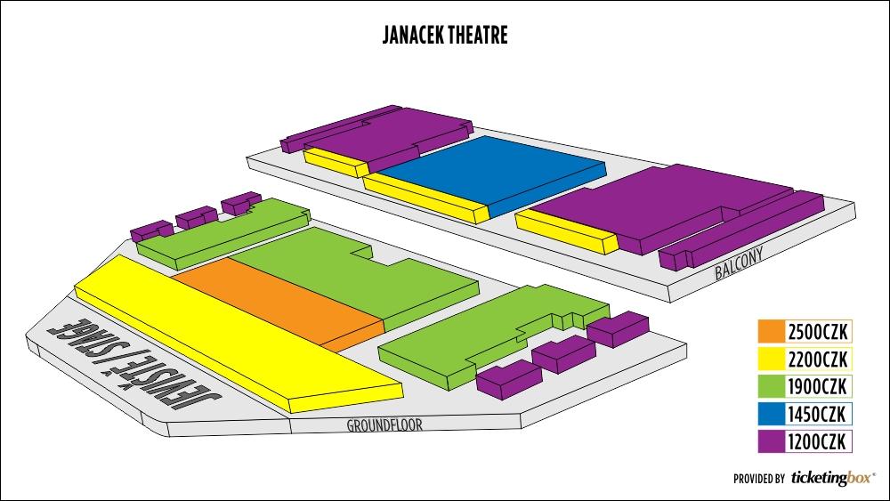 Shen Yun Brno Janáčkovo divadlo Seating Chart