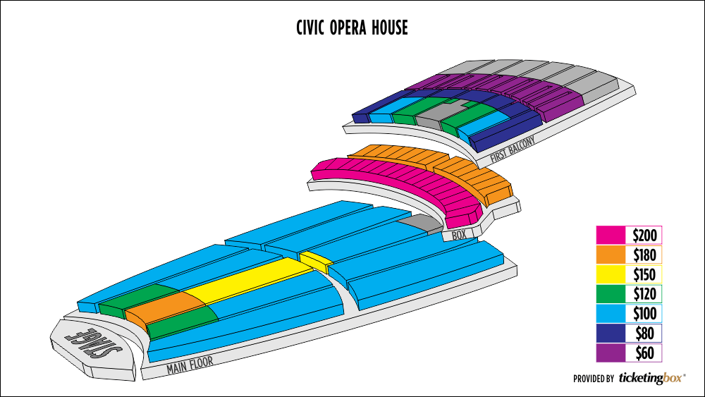 Shen Yun Chicago Civic Opera House Seating Chart