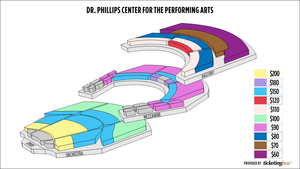 Shen Yun Orlando Dr. Phillips Center for the Performing Arts Seating Chart