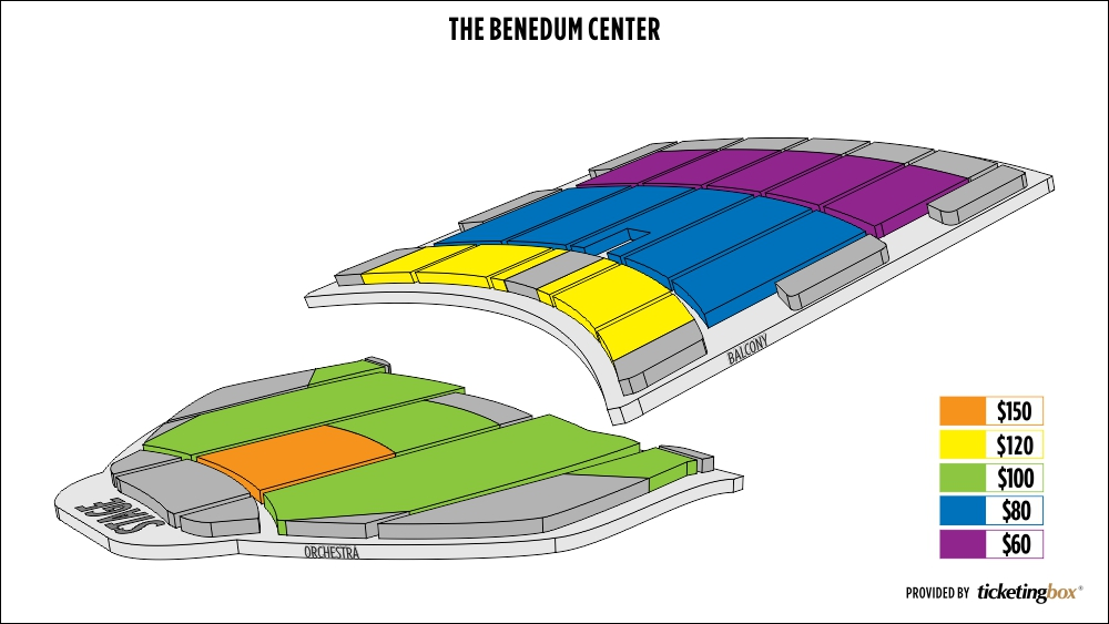 The Benedum Center For The Performing Arts Seating Chart