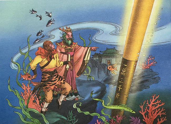 the golden cudgel and how monkey king pilfered it shen yun