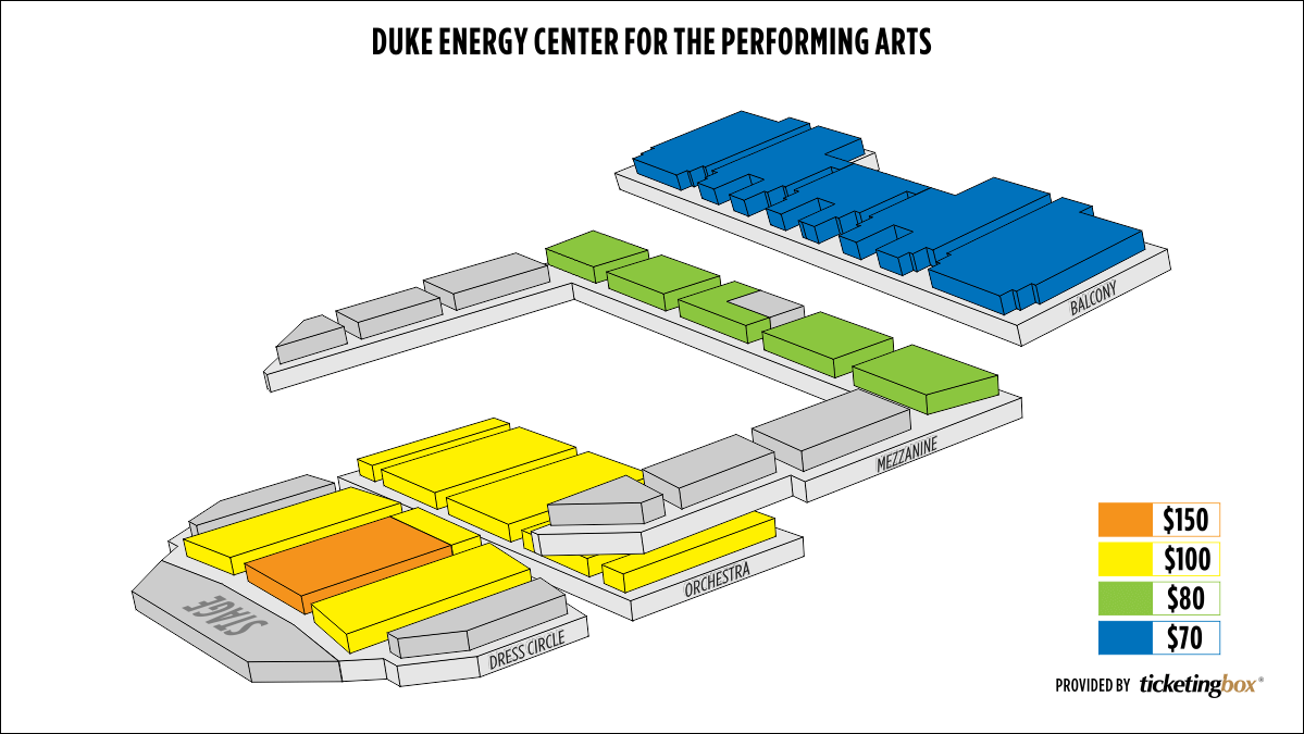 Shen Yun Raleigh Duke Energy Center for the Performing Arts Seating Chart