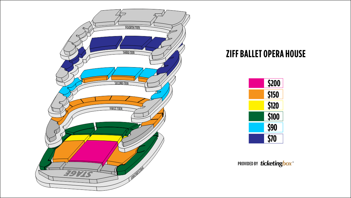 Shen Yun Miami Adrienne Arsht Center for the Performing Arts Seating Chart