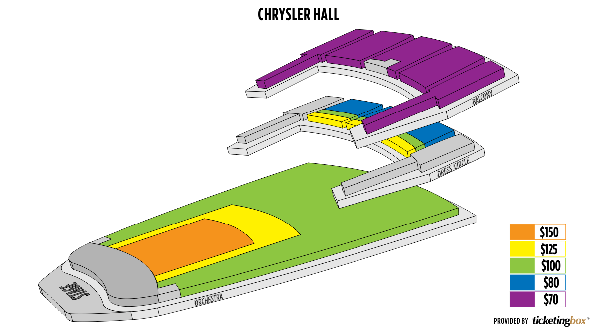 Shen Yun Norfolk Chrysler Hall Seating Chart