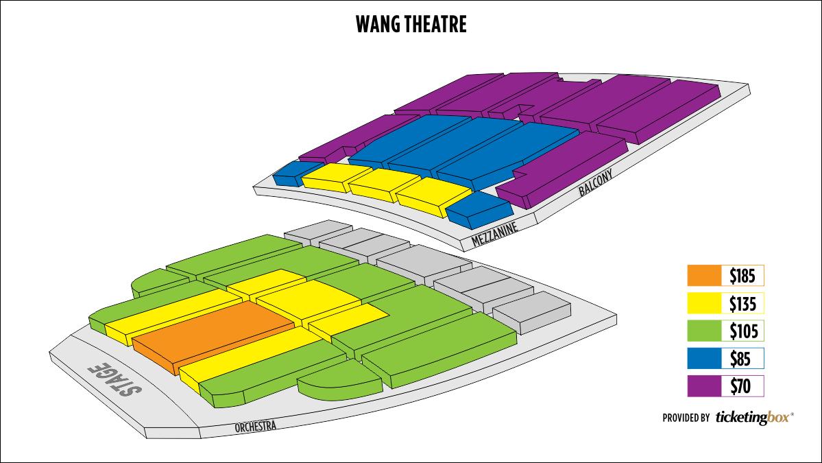 Shen Yun Boston Citi Performing Arts Center Wang Theatre Seating Chart
