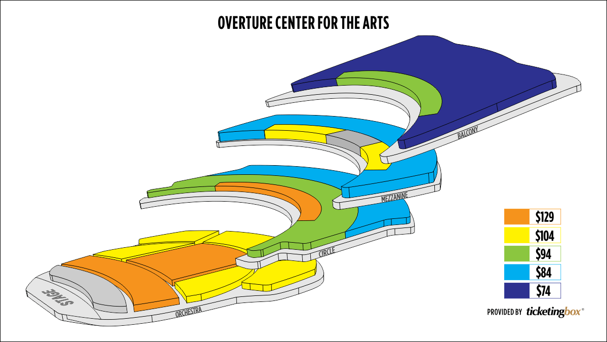 Shen Yun Madison Overture Center for the Arts Seating Chart