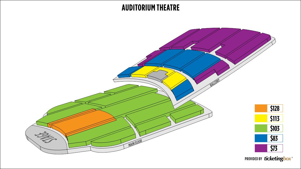 Shen Yun Rochester Rochester Auditorium Theatre Seating Chart