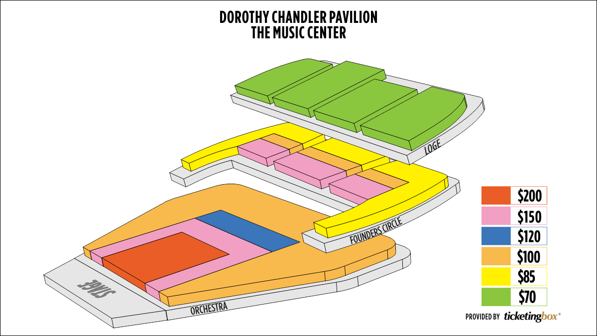 Shen Yun Downtown LA Dorothy Chandler Pavilion Seating Chart