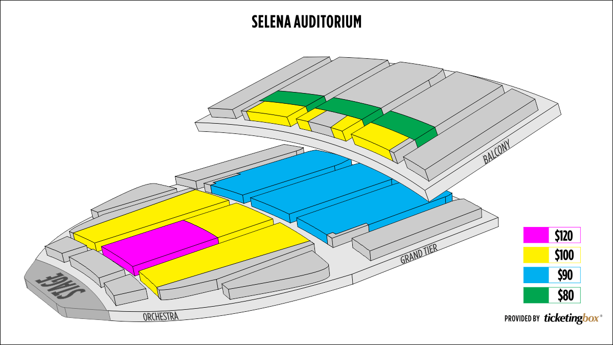 Shen Yun Corpus Christi American Bank Center Selena Auditorium Seating Chart