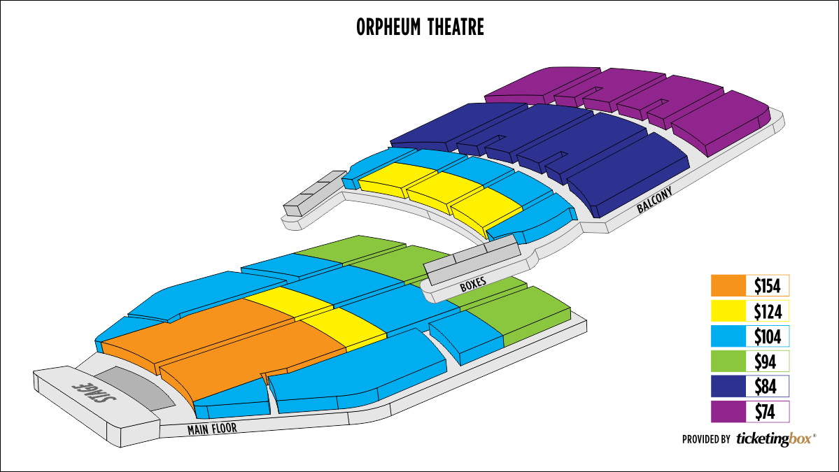 Shen Yun Minneapolis Orpheum Theatre Seating Chart