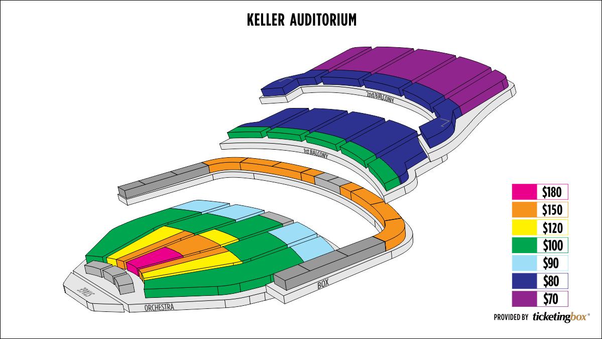 Shen Yun Portland Keller Auditorium Seating Chart