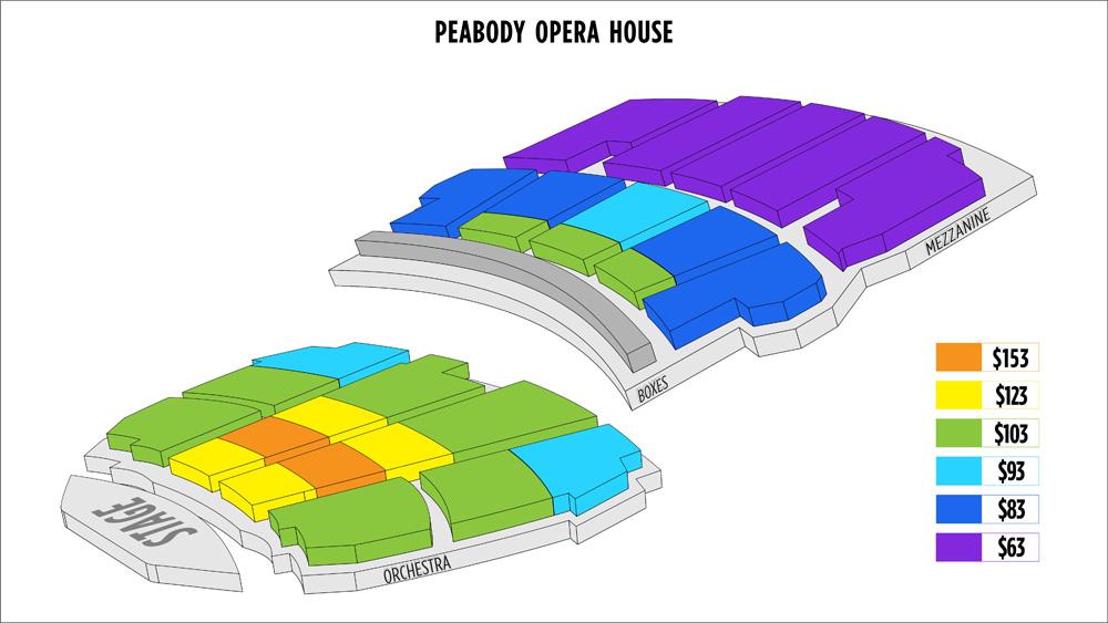 Shen Yun St. Louis Peabody Opera House Seating Chart