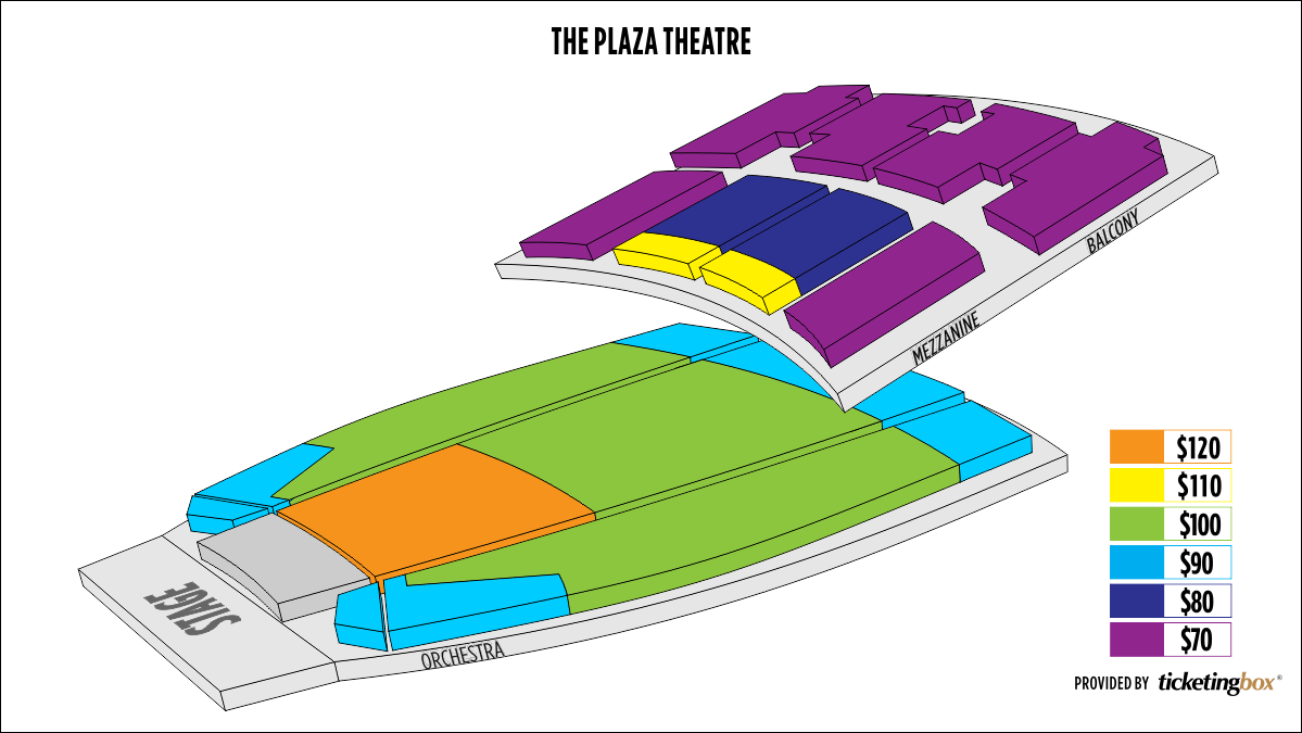Shen Yun El Paso The Plaza Theatre Seating Chart