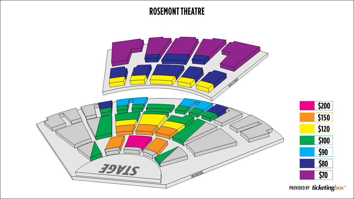 Shen Yun In Rosemont March   At Rosemont Theatre - Chicago map rosemont