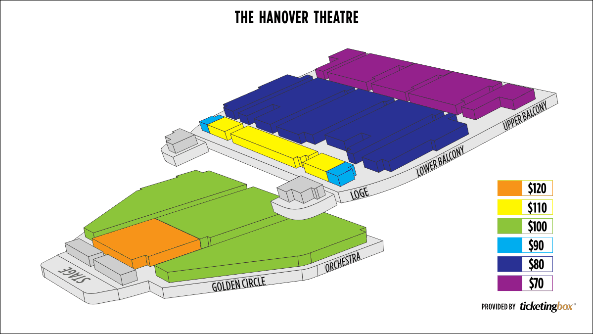 Hanover Theater Seating Chart Hanover Theater Seating