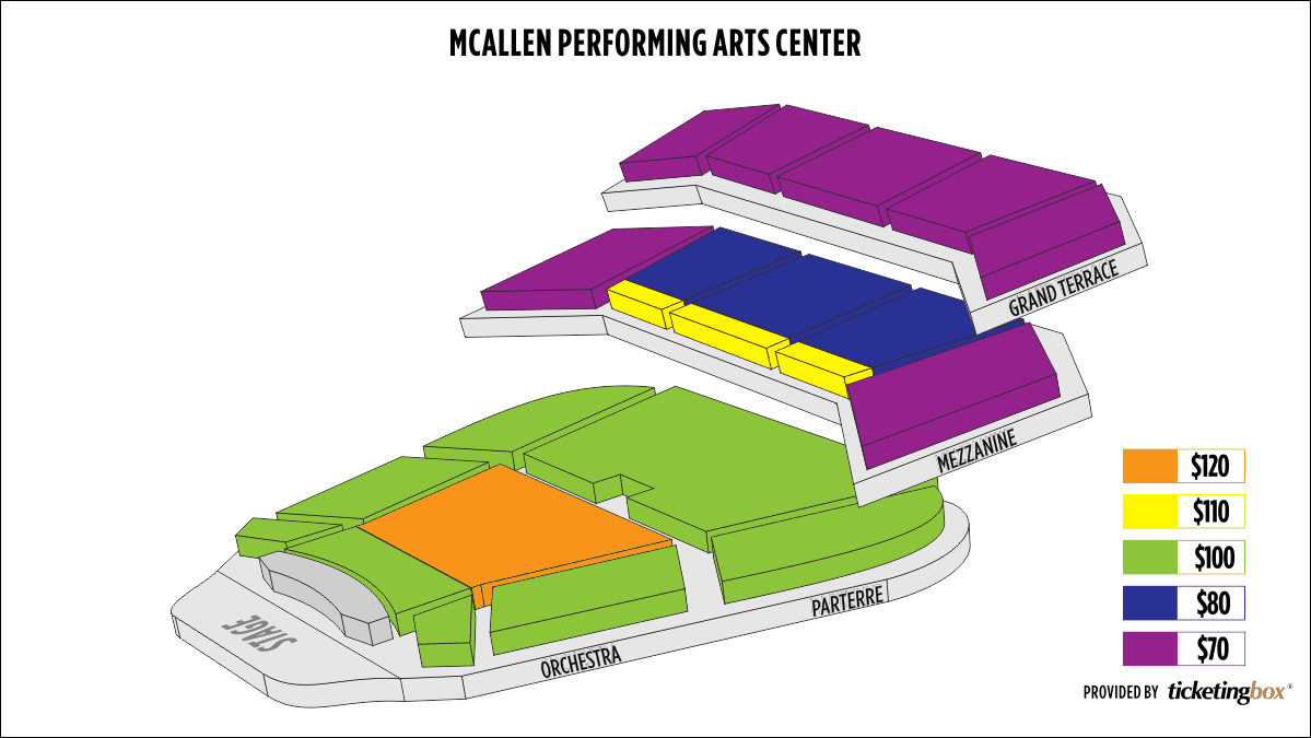 Shen Yun McAllen McAllen Performing Arts Center Seating Chart