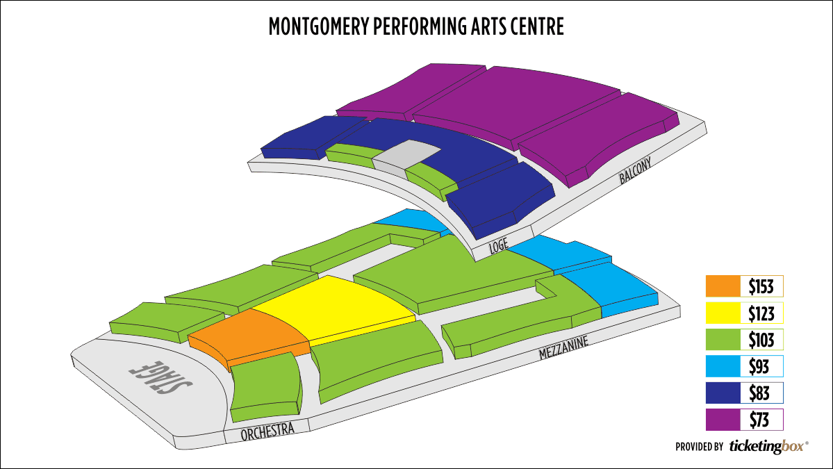 Shen Yun Montgomery Montgomery Performing Arts Centre Seating Chart