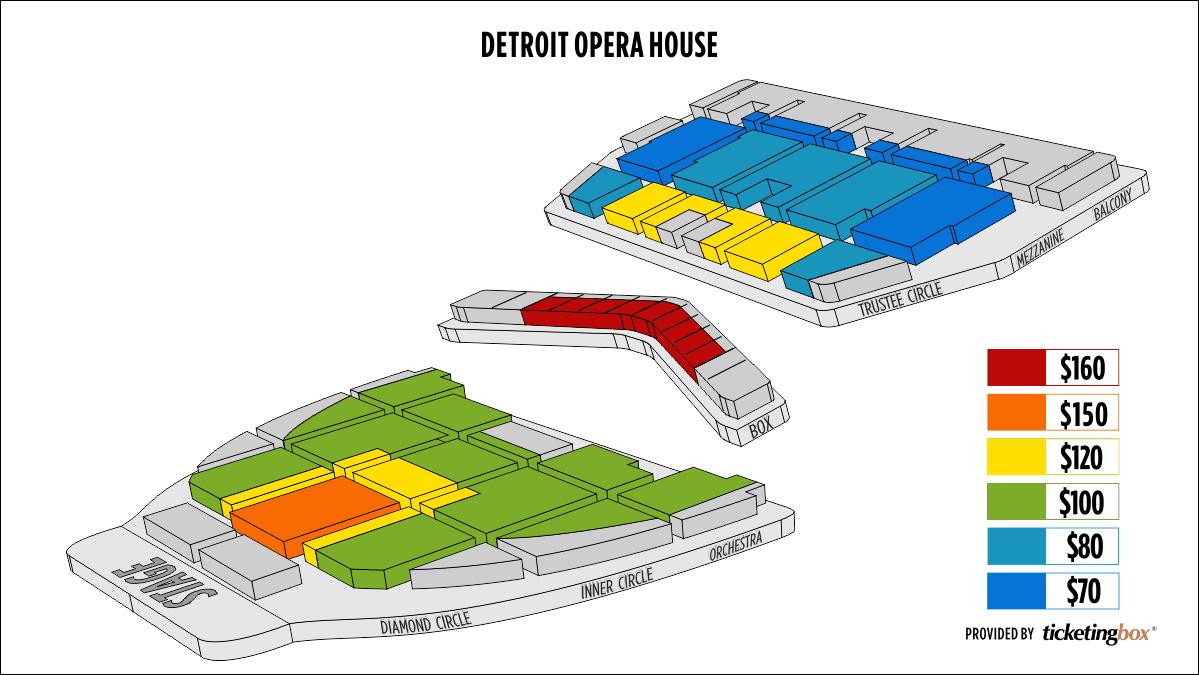 Shen Yun Detroit Detroit Opera House Seating Chart