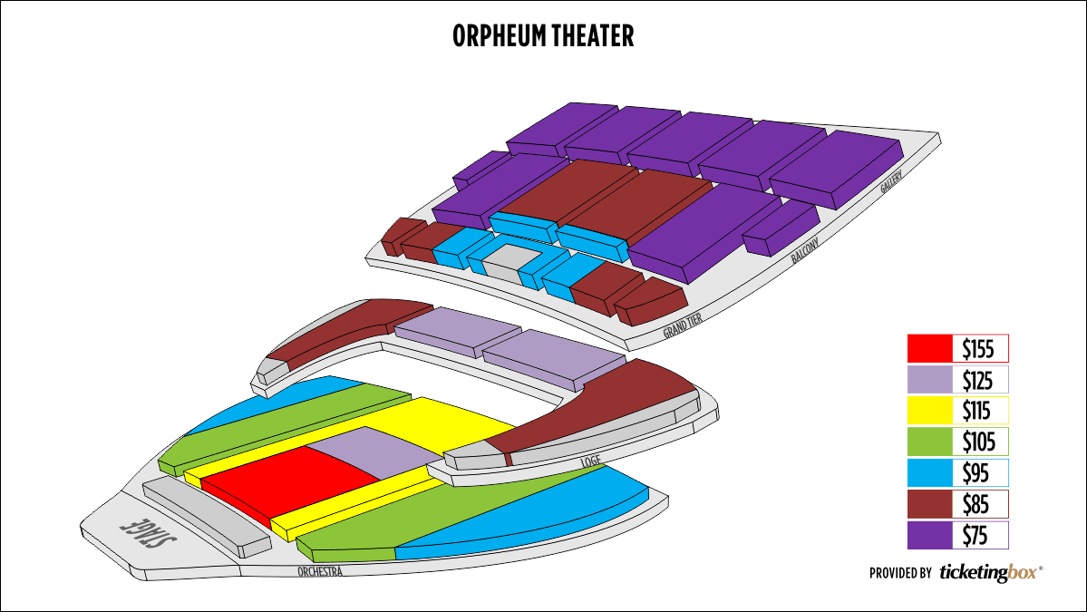 Shen Yun Omaha Orpheum Theater Seating Chart
