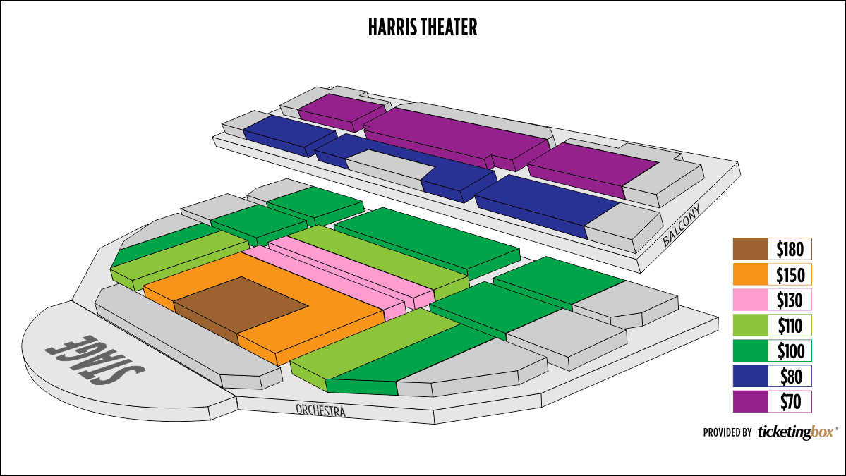 Shen Yun Chicago Harris Theater Seating Chart