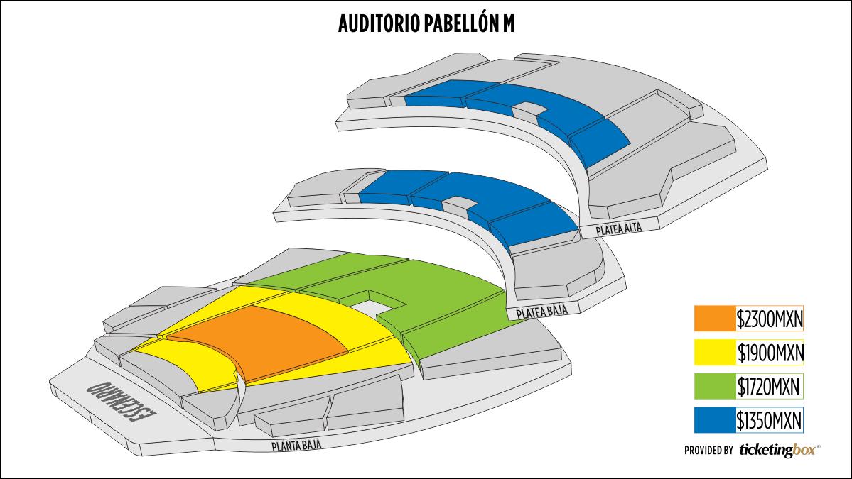 Shen Yun Monterrey Auditorio Pabellon M Seating Chart