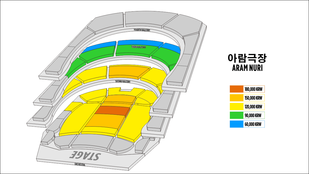 Shen Yun Goyang Aram Nuri Seating Chart